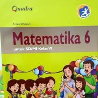 BUKU MATEMATIKA KELAS 6 QUADRA SD MI KURIKULUM 2013 / MATEMATIKA SD 6