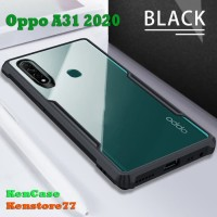 Case Oppo A31 2020 Shockproof Armor Transparan Softcase Clear
