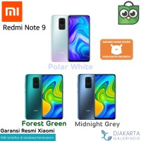 Xiaomi Redmi Note 9 4/64 & 6/128 GB - Garansi Resmi Xiaomi - Grey 64GB