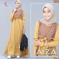 AIZA DRESS KIDS Baju Gamis Remaja Kekinian Model Terbaru 2020