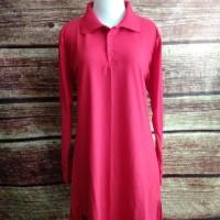 terbaru dan terkeren Kaos Polo Shirt Lacoste Muslimah Panjang Busui
