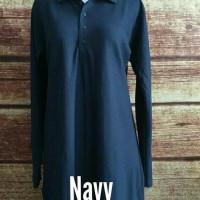 terbaru dan terkeren Jumbo XXXL Baju Kaos Krah Tunik Muslimah Polo