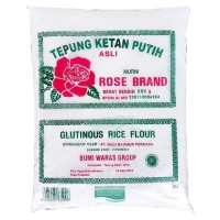 Tepung Ketan Putih Rose Brand 500 gr - Asli
