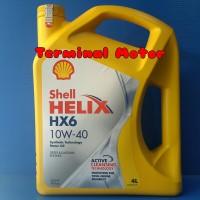 Oli Shell HX6 10W-40 Synthetic Technology 4 Liter ORIGINAL