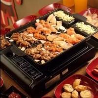 KOREAN BBQ Yakiniku Grill Pan Oil free Baking Pan