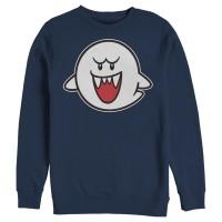 Baju Kaos Nintendo Mario Boo Ghost T-Shirt