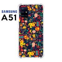 Casing Custom Samsung A51 Softcase Anticrack Motif Lucu Binatang