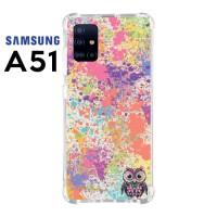 Casing Custom Samsung A51 Softcase Anticrack Motif Burung Lucu 08
