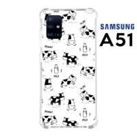 Casing Custom Samsung A51 Softcase Anticrack Motif Sapi Lucu 02
