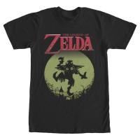 Baju Kaos Nintendo Legend of Zelda Skull Kid in the Moon T-Shirt