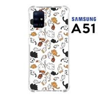 Casing Custom Samsung A51 Softcase Anticrack Motif Kucing Lucu 30