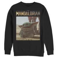 Baju Kaos Star Wars The Mandalorian The Child Scene T-Shirt