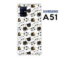 Casing Custom Samsung A51 Softcase Anticrack Motif Kucing Lucu 28