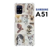 Casing Custom Samsung A51 Softcase Anticrack Motif Anjing Lucu 24