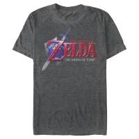 Baju Kaos Nintendo Legend of Zelda Ocarina of Time T-Shirt