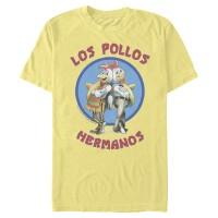 Baju Kaos Breaking Bad Los Pollos Hermanos Chicken Logo T-Shirt