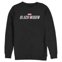 Baju Kaos Marvel Black Widow Movie Logo T-Shirt