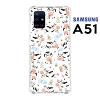 Casing Custom Samsung A51 Softcase Anticrack Motif Sapi Lucu 09