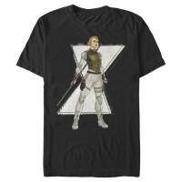 Baju Kaos Marvel Black Widow Yelena Cartoon T-Shirt