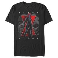 Baju Kaos Marvel Black Widow Battle Trio T-Shirt