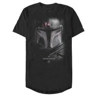 Baju Kaos Star Wars The Mandalorian Bounty Hunter Shadow T-Shirt