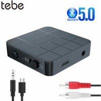 TEBE 2 in 1 Audio Bluetooth 5.0 Transmitter & Receiver 3.5mm - KN321