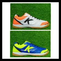 Sepatu Futsal Kelme K-Strong Royal Blue - White Orange Original Kode