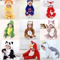 HQ Animal Jumpsuit Pajamas for Toddlers / Kostum Binatang Anak Balita