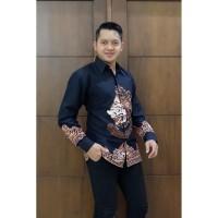 Kemeja batik pria motif RAI WAYANG lengan panjang