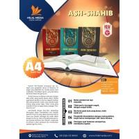 Mushaf Al-Qur'an ASH SHAHIB UKURAN BESAR A4