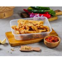 Family Meals Porsi Ayam Goreng Tepung Menu Catering Nasi Kotak Kotak