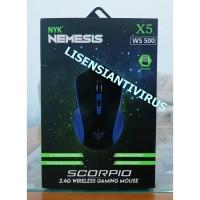 Mouse Gaming NYK Nemesis Wireless Scorpio Bukan Rexus Sades Armageddon