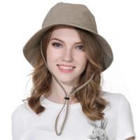 Topi Pria Bucket Hat Rimba Topi Pria Wanita Outdoor Topi Rimba Gunung