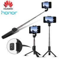 tongsis HUAWEI AF15 Selfie Stick Tripod Bluetooth Original