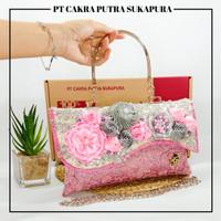 Putra Sukapura Best Seller Hand Bag Wanita - Pink Baby, M