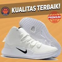 Sepatu Basket Sneakers Nike Hyperdunk 2018 Triple White Black Pria