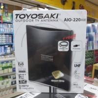 Antena tv digital indoor outdoor toyosaki AIO-220AW