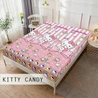 SEPREI WATERPROOF/ANTI AIR/ANTI OMPOL KITTY CANDY 120x200x20