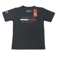 Kaos Anak Premium TOMKID Authentic hitam 2a9.43 - 4