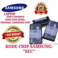 RAM NB DDR4 8GB 2666MHZ LAPTOP SAMSUNG ORIGINAL