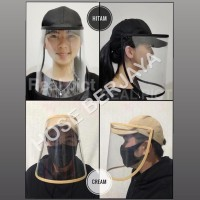Topi Anti Corona Trendy Pria & Wanita (Baseball Hat) - Hitam