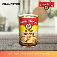 Ayam Brand Jamur Dalam Air Garam Kaleng - Whole Mushroom In Brine 420g