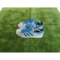 Sepatu Adidas Spezial Biru Muda List Biru - Sepatu Pria