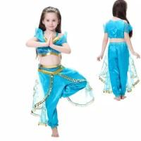 Baju Anak Dress Princess Jasmine costume kostum costplay alladin