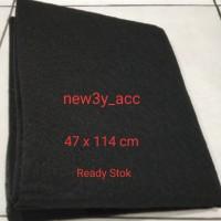 Filter carbon Asap / Minyak Cooker Hood / Exhaust Fan Dapur 47cmX114cm