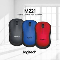 LOGITECH M221 Mouse Wireless Silent Click - 100% original