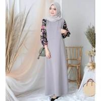 Huzra dress baju gamis pakaian wanita fashion muslim