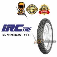 Ban luar motor matic 80/90-14 IRC NR76 Tubetype
