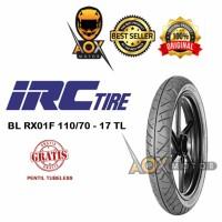 Ban luar motor sport 110/70-17 IRC RX01F Tubeless, GRATIS Cop Tubeless