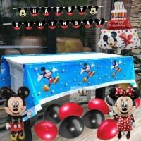 Paket Dekorasi Balon Ulang Tahun / Happy Birthday Tema Mickey Mouse